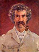 Mark Twain, Gemälde von James Carroll Beckwith 1890
